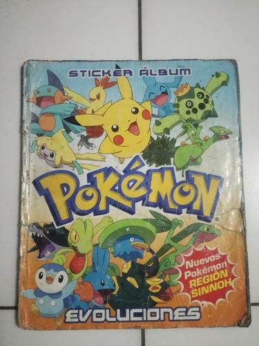 álbum pokemon evoluciones navarrete región sinnoh nintendo