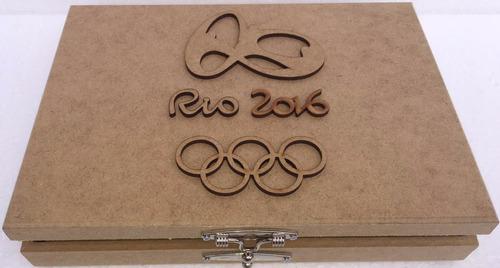 album porta 17  moedas mdf olimpiadas olimpica rio 2016