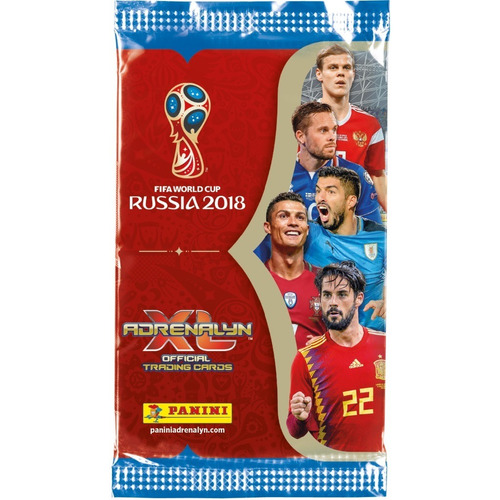 album porta cards copa 2018 adrenalyn xl starter pack +cards