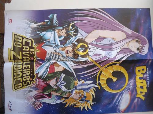 album poster cavaleiros do zodiaco saga de hades