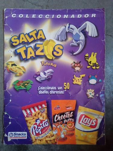 album salta tazos pokemon