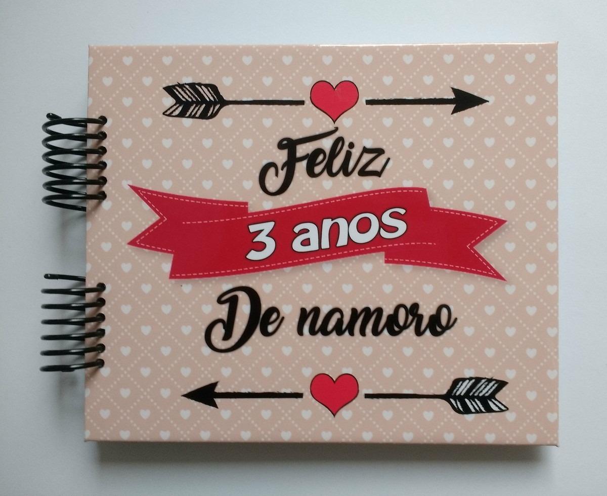 Álbum Scrapbook Namorados