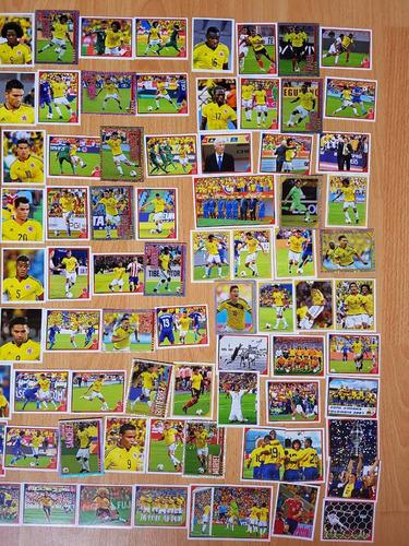 álbum selección colombia panini 2018 + todas láminas pegar