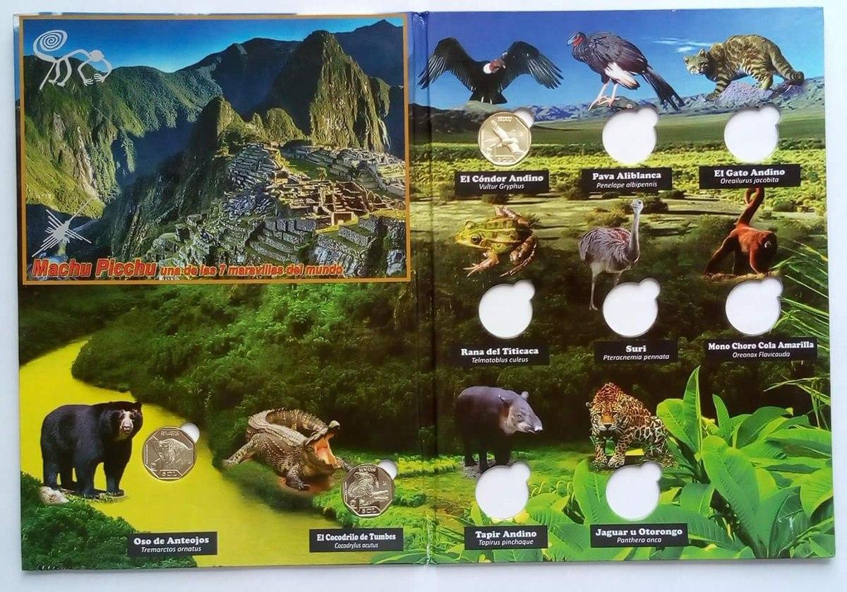 Album Serie Fauna Silvestre Amenazada Del Peru 2017 2020