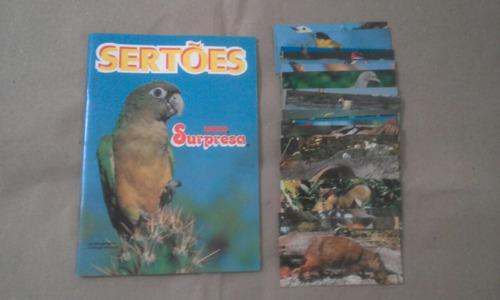 álbum sertões chocolate surpresa completo #igs
