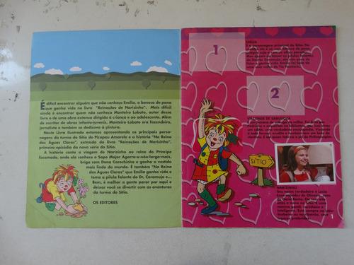 album sítio do picapau amarelo! faltam 37 figurinhas! 2002!