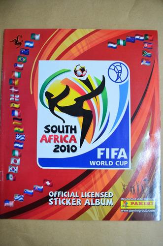 álbum south africa 2010. réplica con figuritas impresas  /s