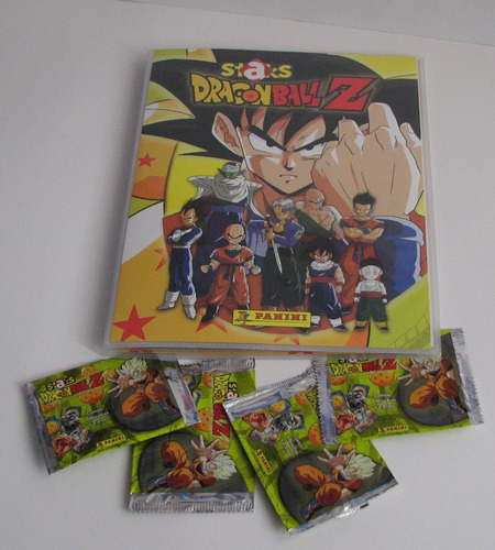 albúm stacks dragon ball z con tablero de regalo