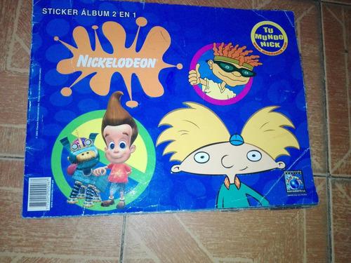 album stiker 2 en 1 bob esponja nickelodeon