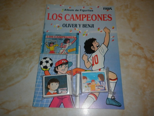 album supercampeones completo impecable!!!