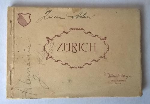 album tarjetas postales antiguas zurich década '20