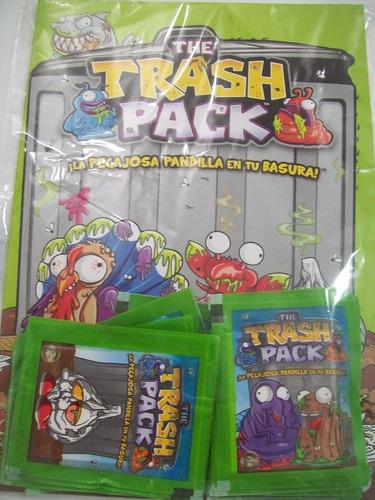 album the trash pack + 25 sobres cerrados