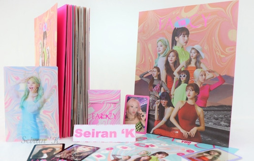 album twice - 7th mini [fancy you] + regalos+ envio a 1 dia!