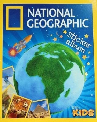 álbum vacio national geographic kids panini sin estampas