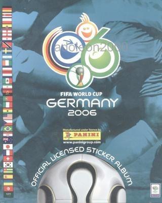 álbum vazio copa do mundo 2006