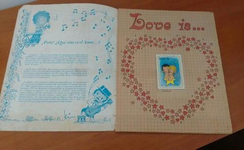 album vintage 1983 love is... amor es... 10 verds