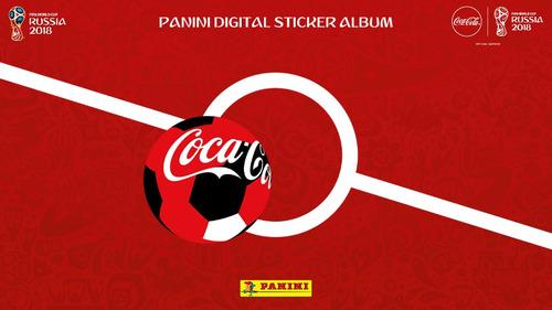 album virtual lleno panini rusia 2018 digital formato pdf