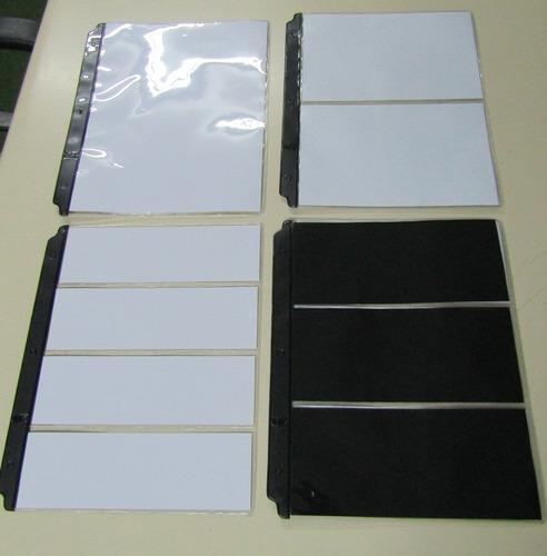 album vk de 25 hojas para coleccionar hasta 200 billetes