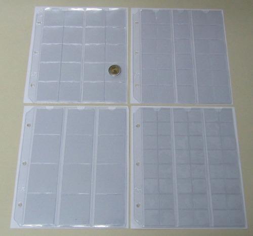 album vk para guardar monedas sueltas en tiras 15 hojas