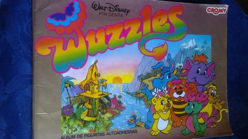 album wuzzles muy buen estado faltan 18 de 193