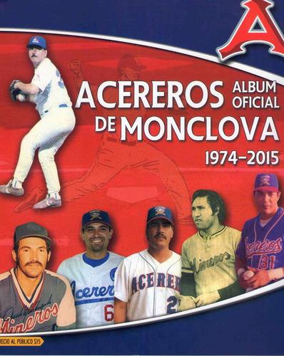 album y estampas acereros de monclova 2015