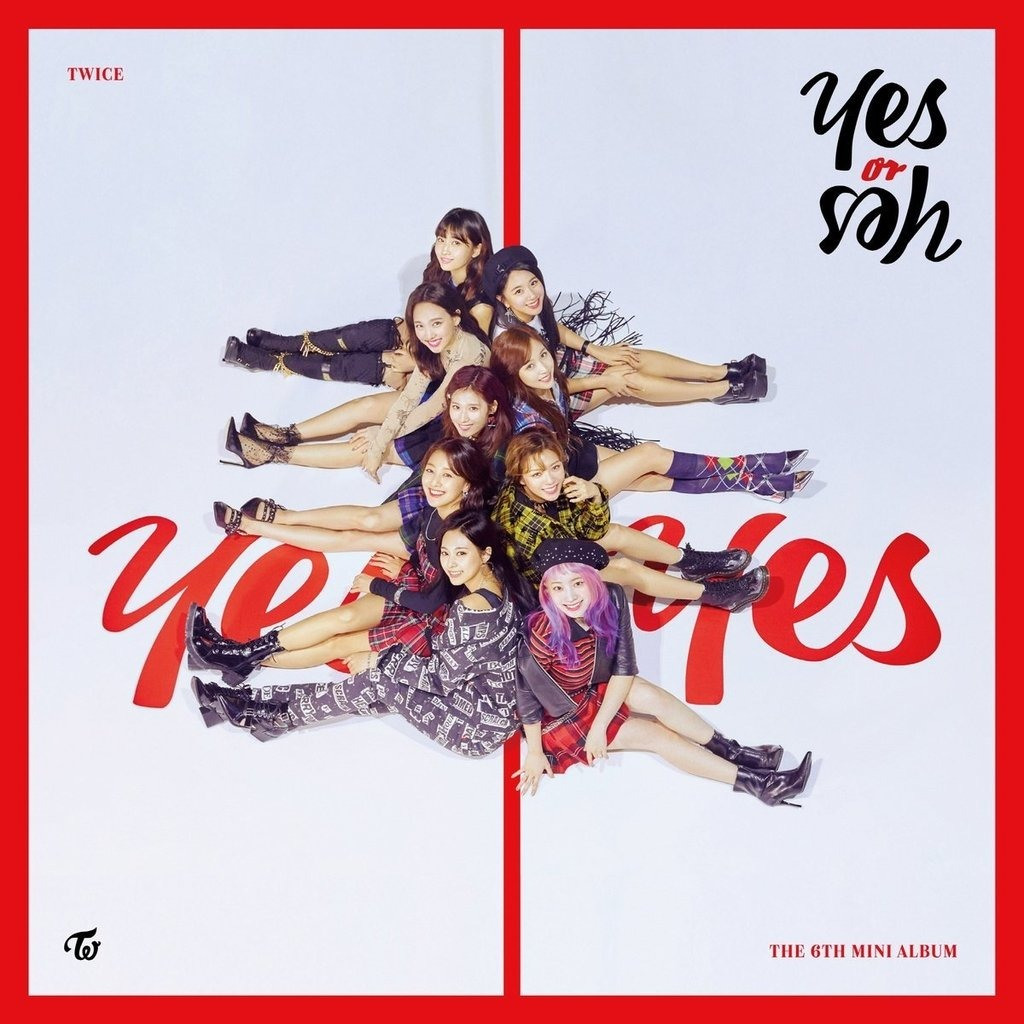a51ce9166bc Álbum Yes Or Yes - Twice (todas)