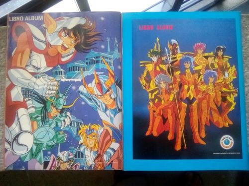 álbumes caballeros del zodíaco 1 y 2