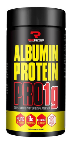 albumin protein pro 120 tabletes - red series