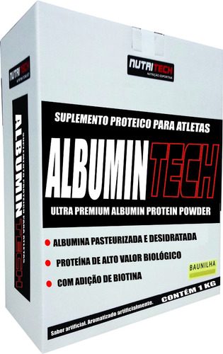 albumina 1kg moran c/ bana nutritech ( combo 5 unidades)