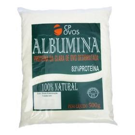 Albumina 500g - Cp Ovos