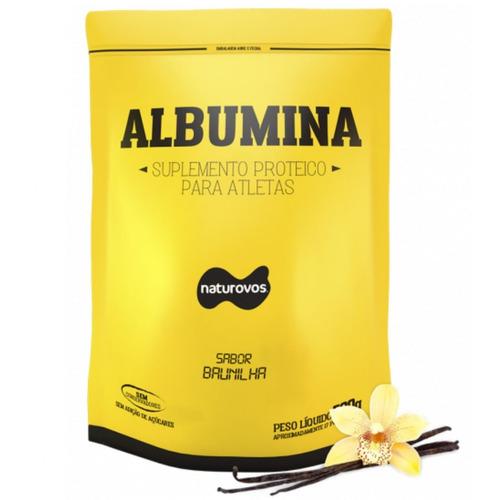 albumina 500gr - naturovos
