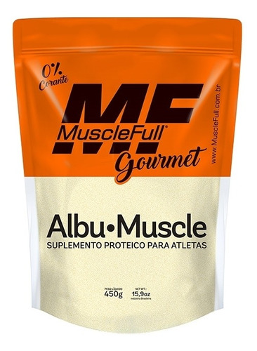 albumina muscle 450g muscle full