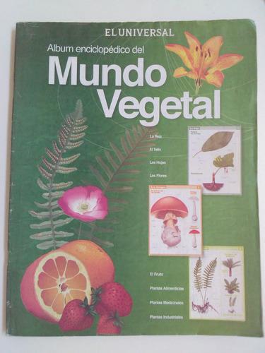 albun enciclopedico del mundo vegetal