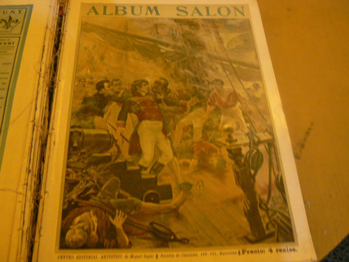 albun salon. m. segui. tomo i. 1897. una reliquia.