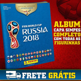 Álbum Figurinhas Copa 2018 Completo Panini Todas Figurinhas