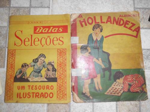 álbuns de figurinhas balas seleções e a holandeza raridade