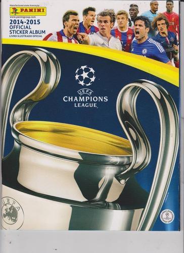 albuns de figurinhas - uefa 2014/2015 champions league