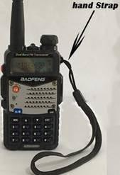 alça de mão radio ht walk talk baofeng yaesu hyt 5 unidades