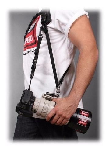 alça dupla carry speed p/ cameras dslr canon nikon sony