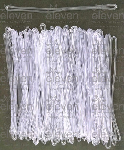 alça tag bagagem silicone (101 unid)