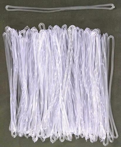 alça tag bagagens cordão de silicone -100 unidades