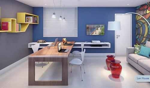 alcacer prata residencial - apartamento de 2 e 3 quartos