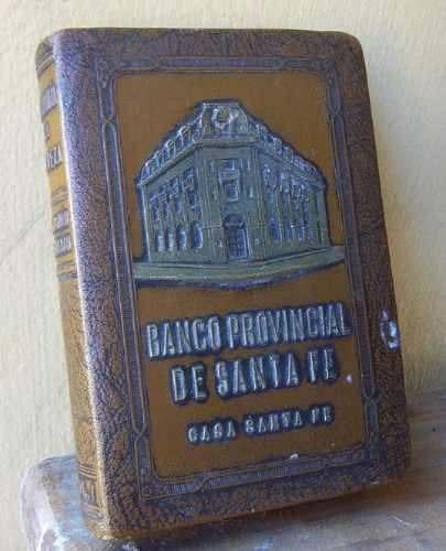 alcancia banco provincial de santa fe,año 1923.