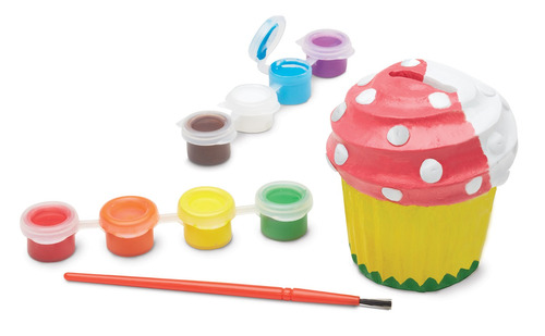 alcancía cupcackes para decorar melissa & doug