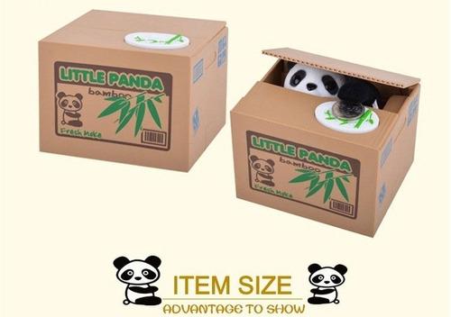 alcancía de panda roba monedas--- en stock!!!!!