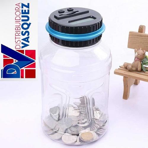 alcancia digital cuenta monedas con pantalla lcd oferta