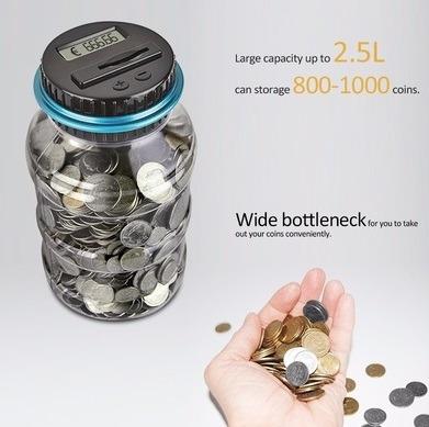 alcancia digital inteligente cuenta monedas desde 1ctv a 1do