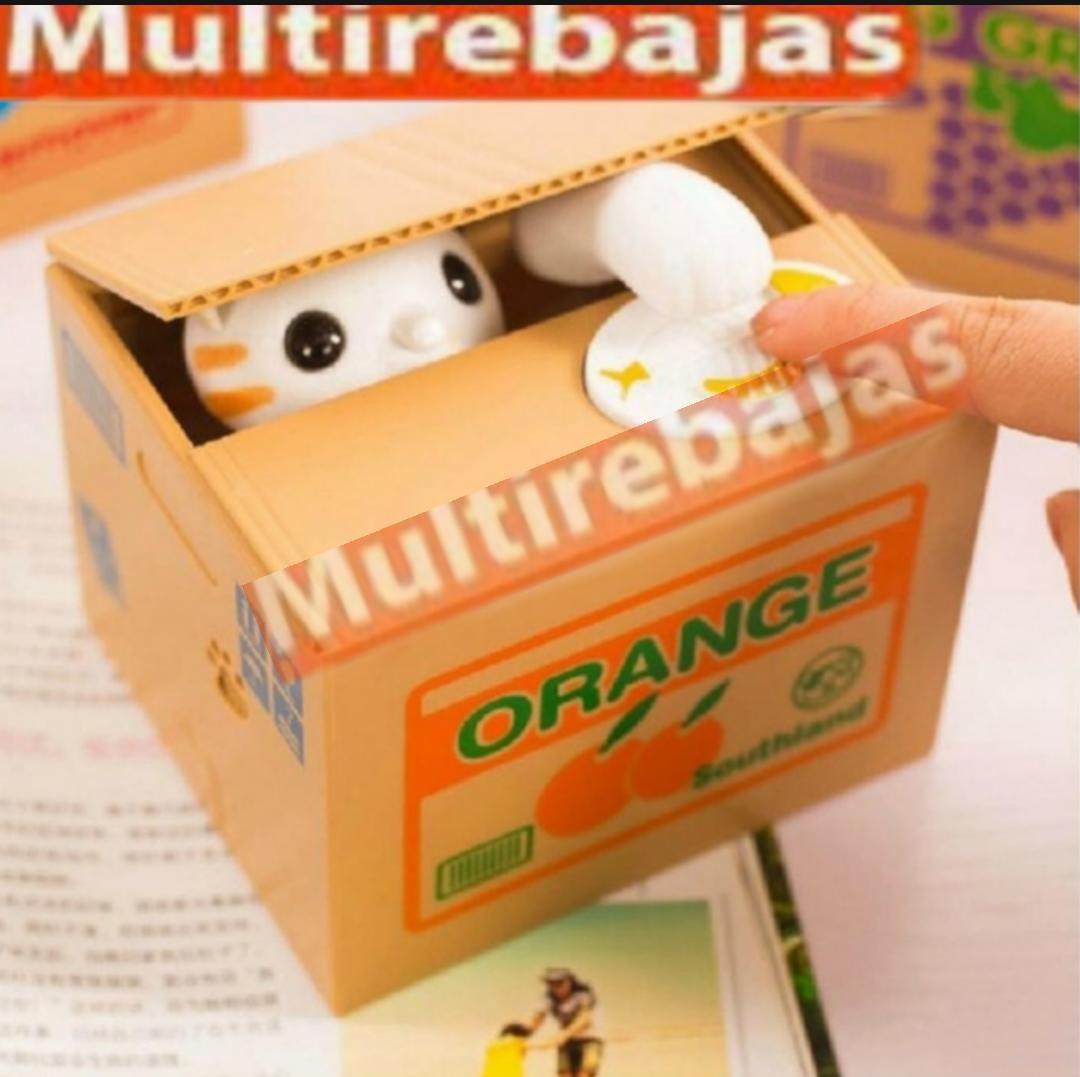 Come Electrónica Alcancía Gato Monedas Juguete Para Niños pSMUVqzG
