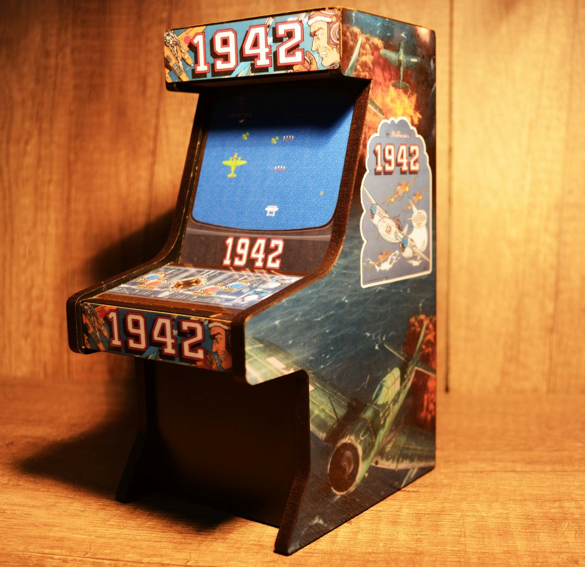 1942 Arcade Cabinet Alcanc A En Forma De Arcade 1942 25000 En Mercado Libre