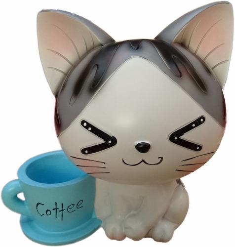 alcancia gato kawaii regalo enseña a ahorrar ldx19d